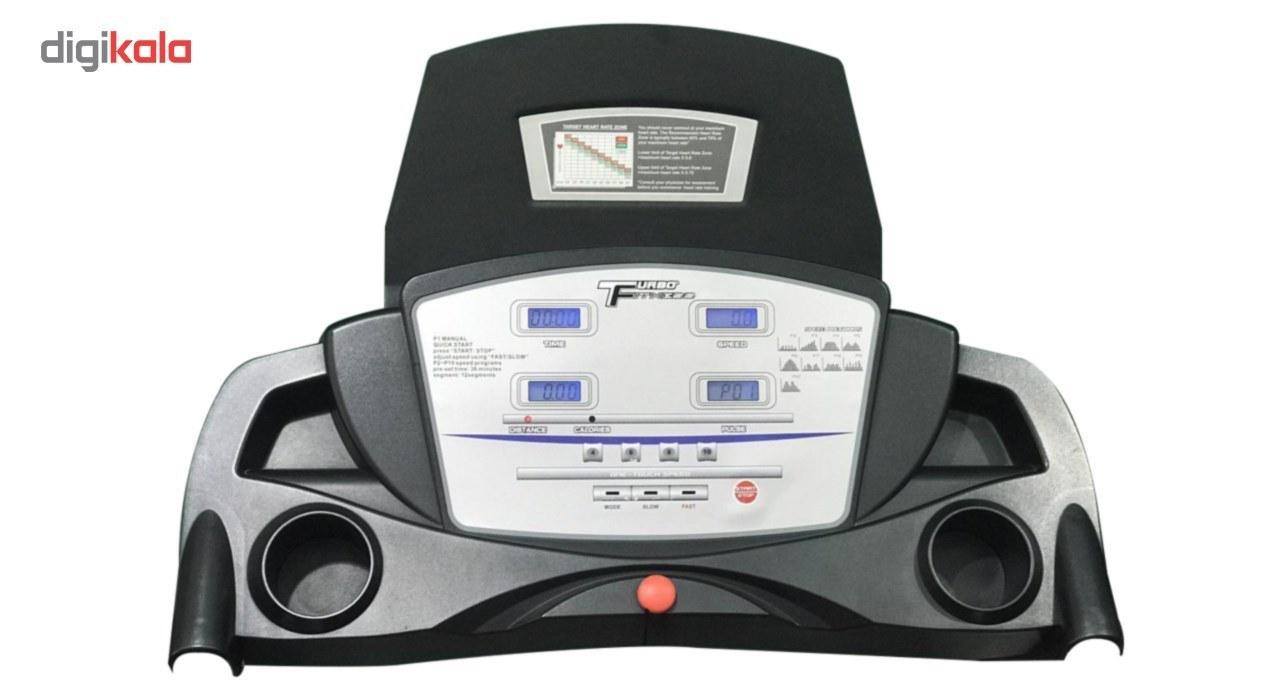 img تردمیل توربو فیتنس مدل TF 100 Turbo Fitness 100 Treadmill