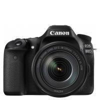 تصویر دوربین دیجیتال کانن مدل EOS 80D با لنز 135-18 میلی متر IS USM Canon DSLR Digital Camera EOS 80D 24MP