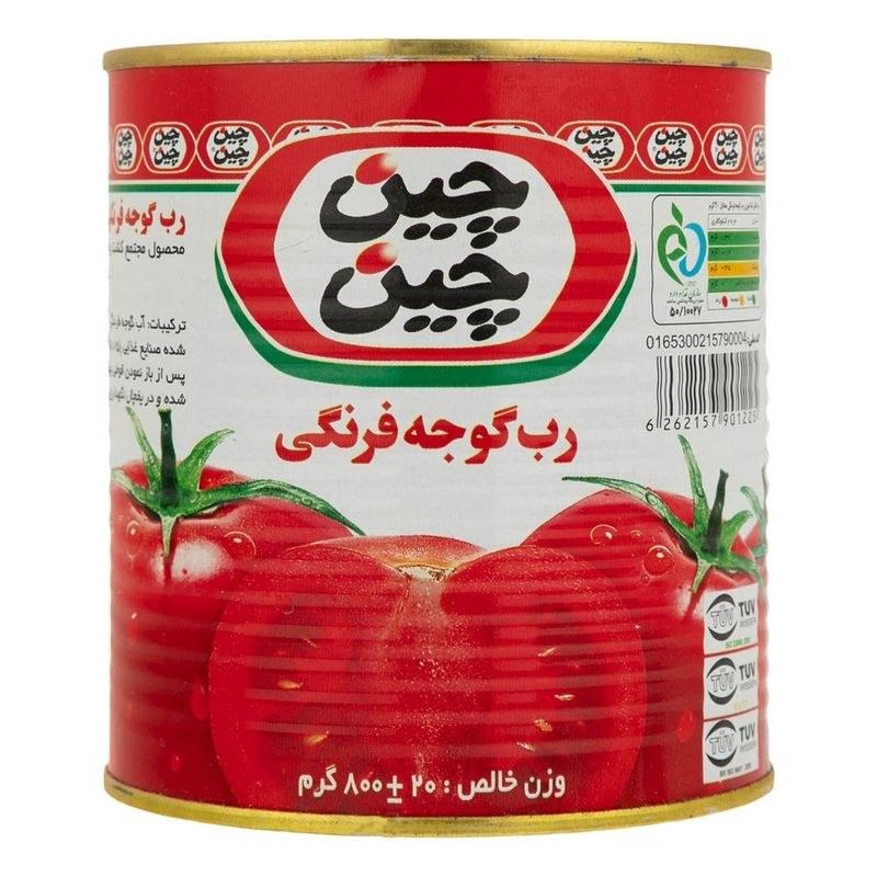 تصویر رب گوجه فرنگی چین چین مقدار 800 گرم