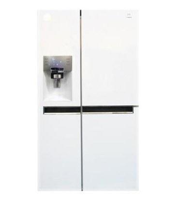 یخچال فریزر ساید بای ساید دوو مدلD2S-0034MW رنگ سفیدمتالیک