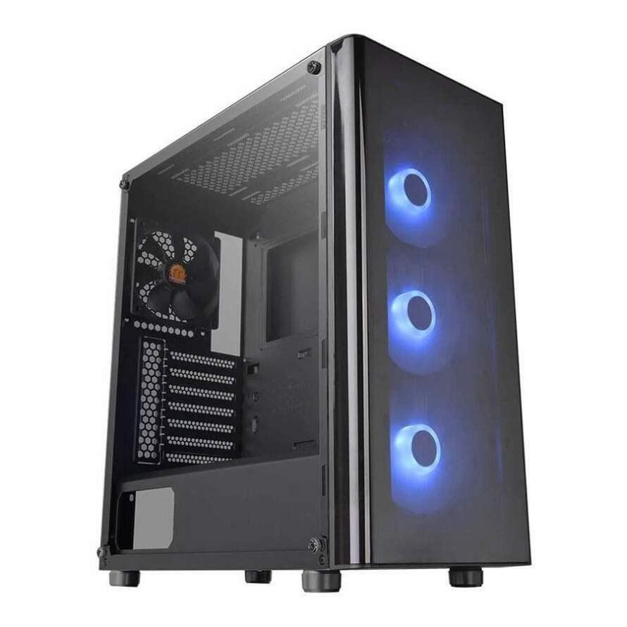 تصویر کیس ترمالتیک V200 TG RGB Thermaltake V200 Tempered Glass RGB Edition 2020 Version Mid Tower Case