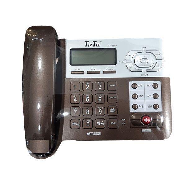 main images تلفن رومیزی تیپ تل مدل TipTel Phone Tip-8845 two