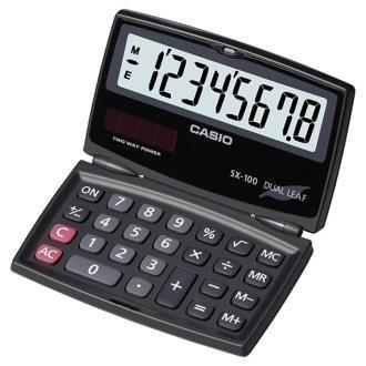 ماشین حساب رومیزی کاسیو مدل SX-100