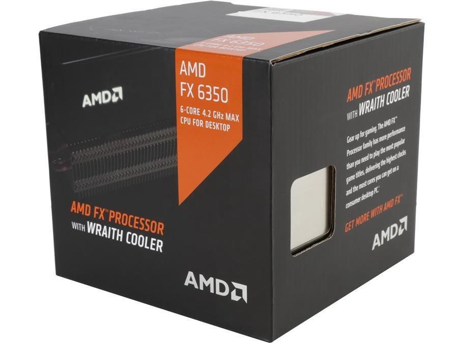 پردازنده ای ام دی مدل اف ایکس ۶۳۵۰ با سوکت +AM۳ همراه با خنک کننده