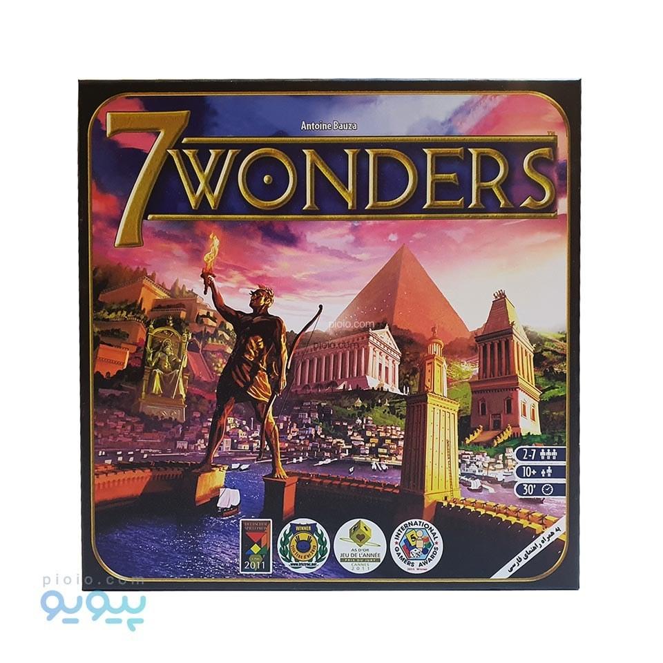 عکس بازی عجایب هفتگانه جهان محصول Asmodee. Asmodee 7 Wonders بازی-عجایب-هفتگانه-جهان-محصول-asmodee