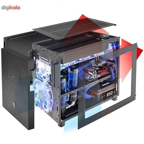 img کیس ترمالتیک مدل Core X2 mATX Cube کیس Case ترمالتیک Core X2 mATX Cube Case