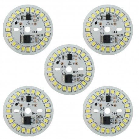 تصویر چیپ ال ای دی 15 وات مدل D44 بسته 5 عددی