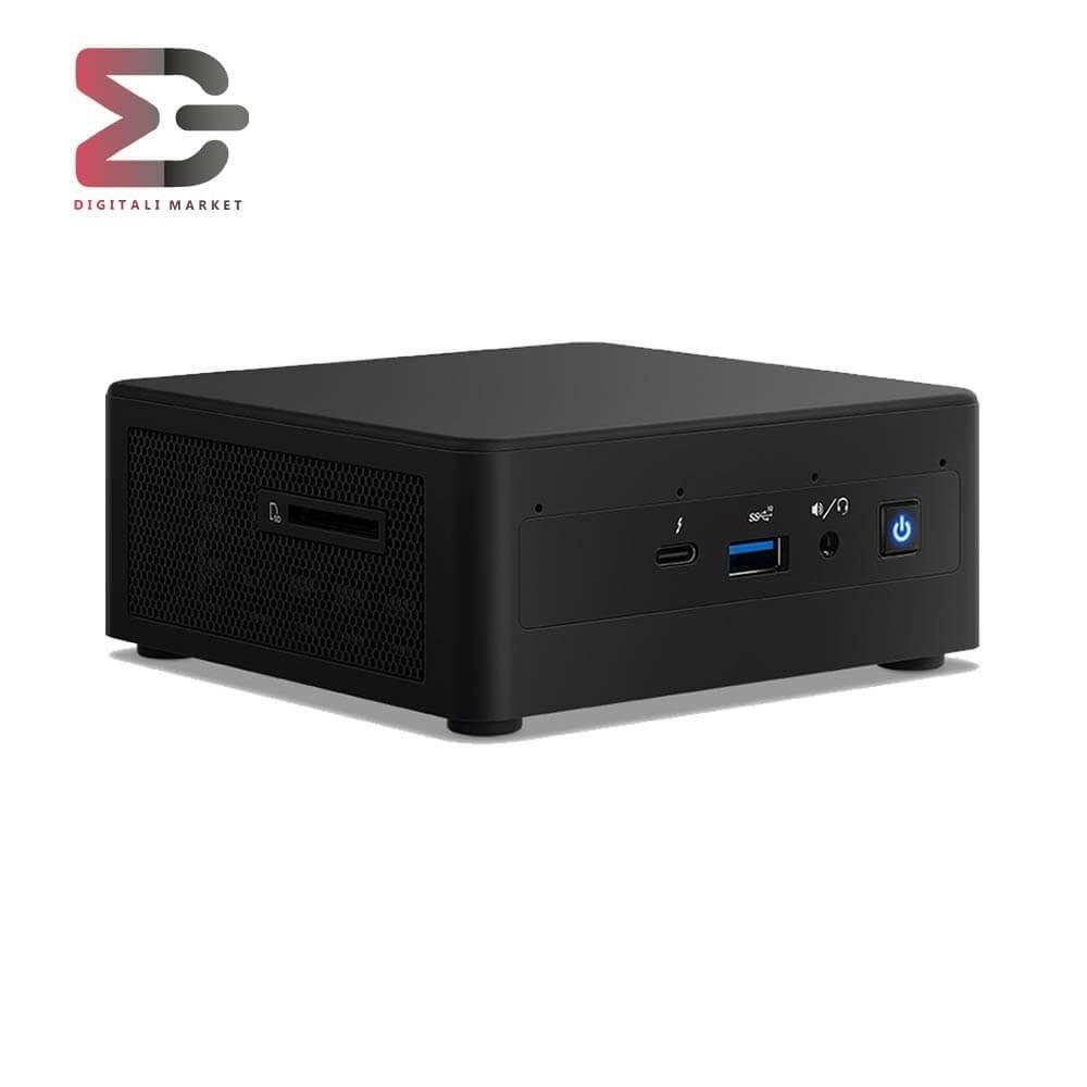 تصویر کامپیوتر کوچک اینتل NUC11PAHi3-A Intel Mini PC NUC11PAHi3-A - Corei3 1115G4/4GB/120GB SSD/Intel