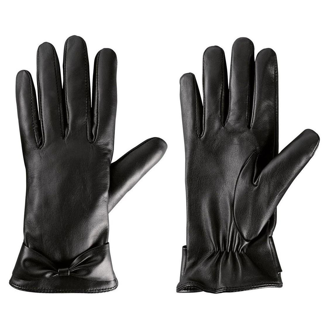عکس دستکش چرم زنانه اسمارا کد 37644  دستکش-چرم-زنانه-اسمارا-کد-37644