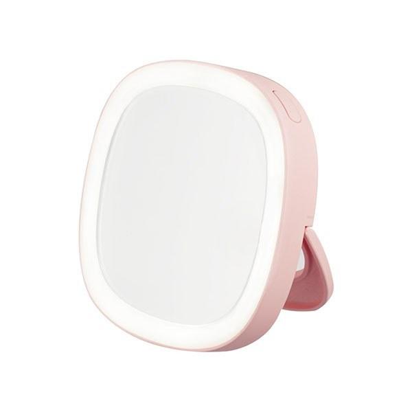 تصویر آینه آرایش ال ای دی دار remax candy