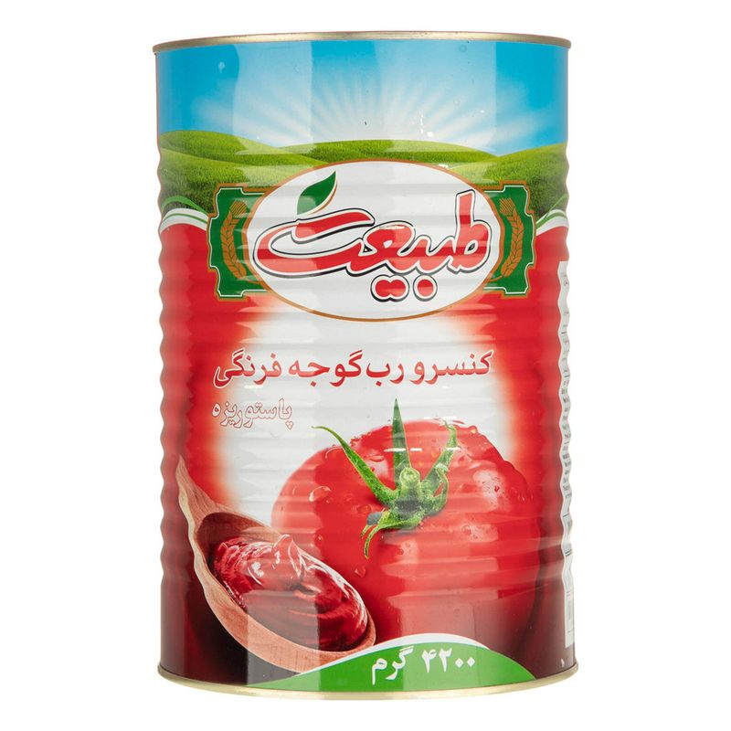 تصویر رب گوجه فرنگی طبیعت مقدار 4.2 کیلوگرم