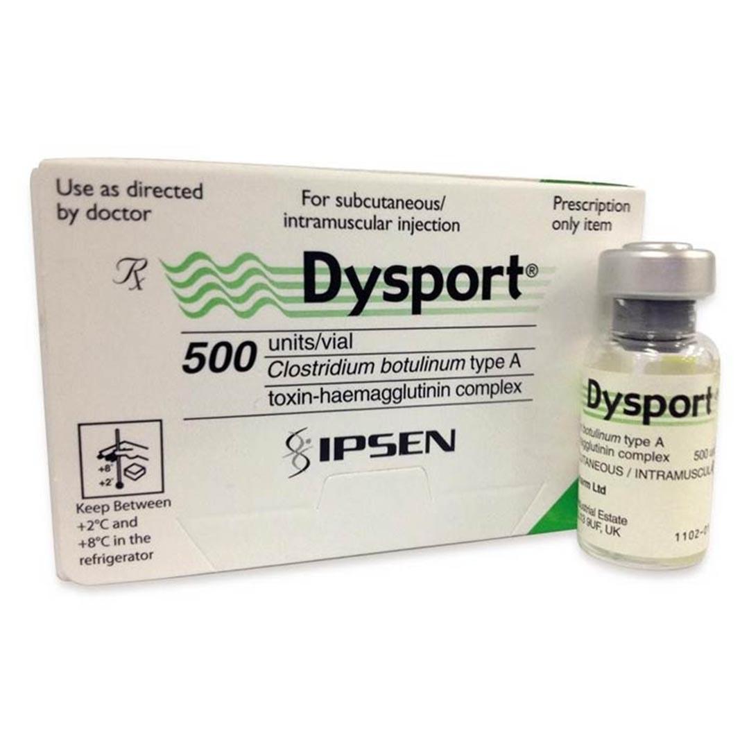 تصویر بوتاکس دیسپورت 500 واحدی Dysport 500U