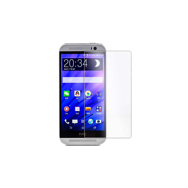 تصویر محافظ صفحه نمایش شیشه ای مناسب برای گوشی موبایل اچ تی سی One M8