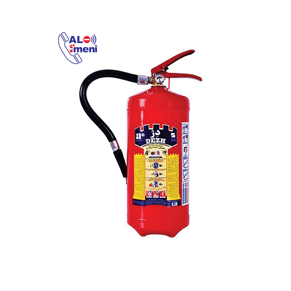 تصویر کپسول آتش نشانی دژ 4 کیلویی