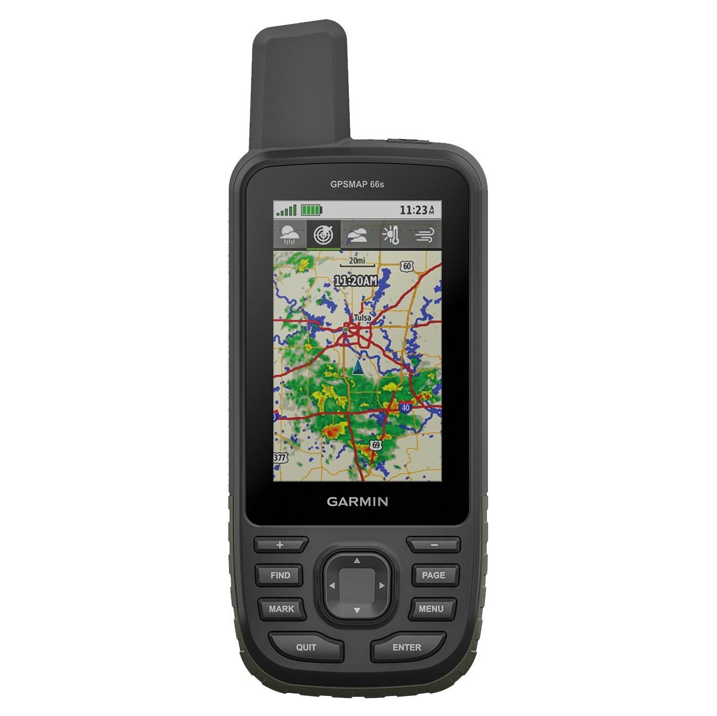 جی پی اس دستی گارمین مدل GPSMAP 66S | Garmin GPSMAP 66S Handheld GPS Navigator