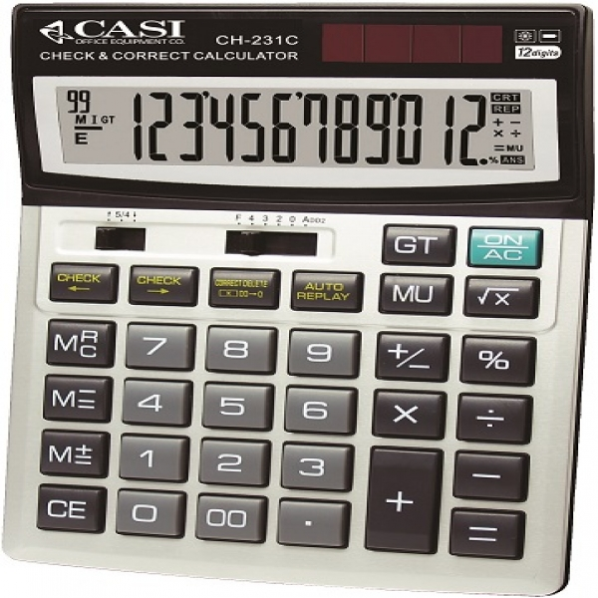 ماشین حساب کاسی مدل سی اچ ۲۳۱