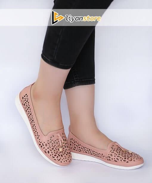 کفش کالج زنانه و دخترانه مدل اسپرت – i109