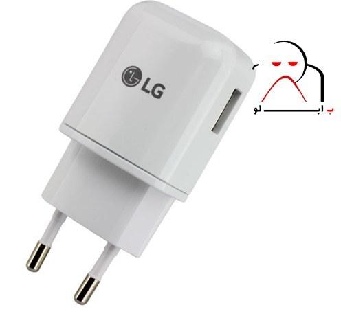 تصویر آداپتور شارژ سریع ال جی LG Adapter Fast Charging MCS--H05ER