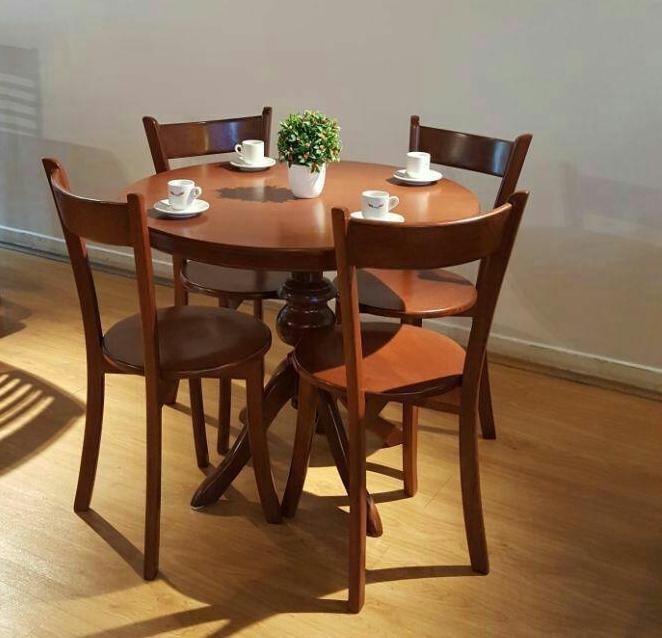 میز و صندلی ناهار خوری مدل پایه گلدانی باز (ارسال رایگان)