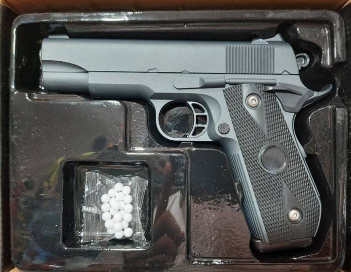 تصویر تفنگ فلزی کلت ایرسافت مدل V9