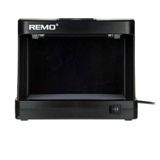 تصویر تست اسکناس تک لامپ رمو528 اتوماتیک Remo 528 automatic lamp banknote test