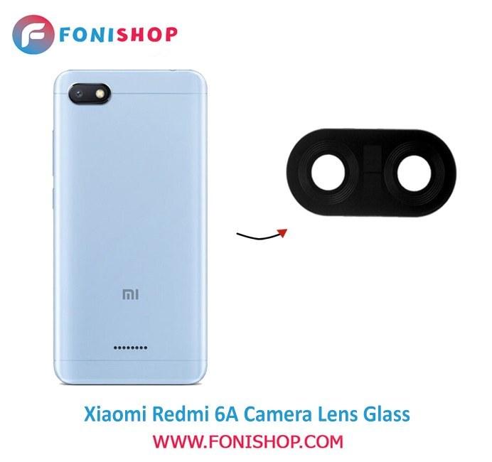 تصویر شیشه لنز دوربین گوشی شیائومی Xiaomi Redmi 6A ا Camera Lens Xiaomi Redmi 6A Camera Lens Xiaomi Redmi 6A