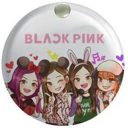 آینه جیبی طرح black pink کد ai67  