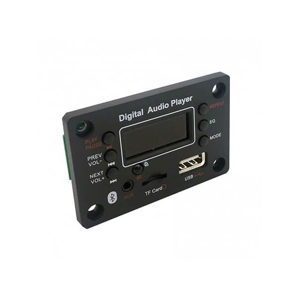 تصویر پخش کننده بلوتوثی 12 ولت روپنلی MP3 با ریموت کنترل مدل G016B