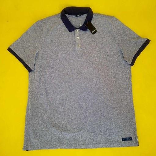 تصویر تیشرت آستین کوتاه مردانه جودون لیورجی مدل دکمه دار