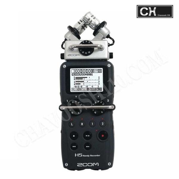عکس ضبط کننده حرفه ای صدا زوم مدل H5 Zoom H5 Professional Voice Recorder ضبط-کننده-حرفه-ای-صدا-زوم-مدل-h5