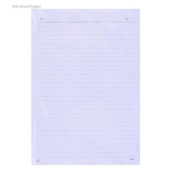 تصویر کاغذ A4 خط دار – بسته ۵۰ عددی