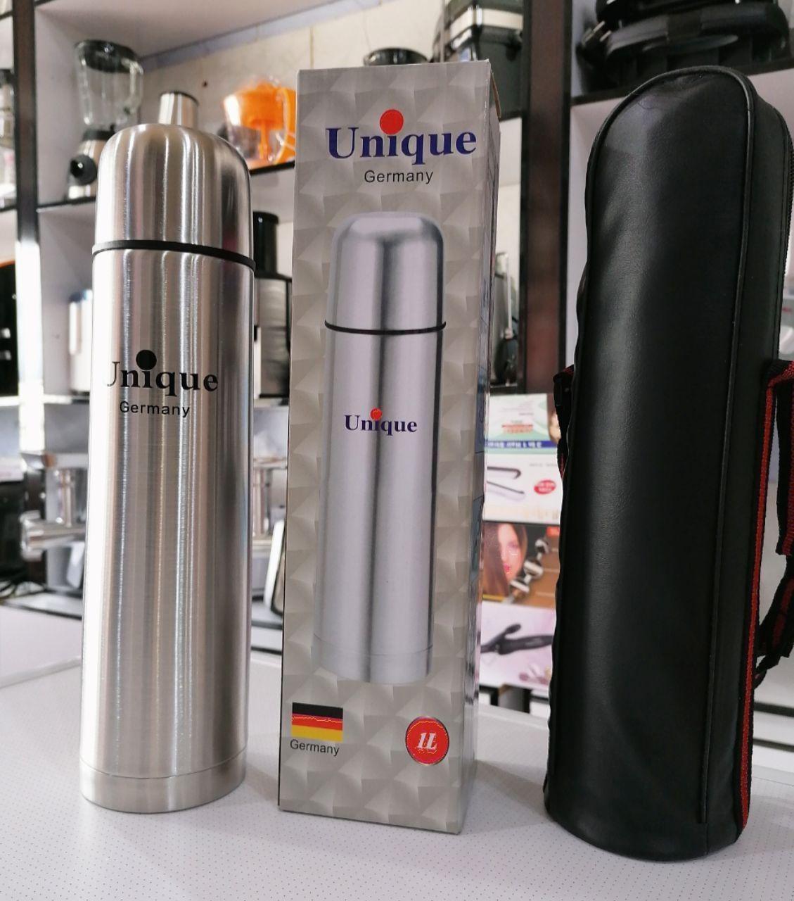 عکس فلاکس استوانه ای یونیک حجم 1 لیتر  فلاکس-استوانه-ای-یونیک-حجم-1-لیتر