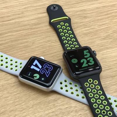 تصویر بند ساعت هوشمند اپل طرح نایک
