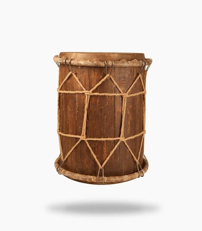 دمام بزرگ چوبی ترنم |