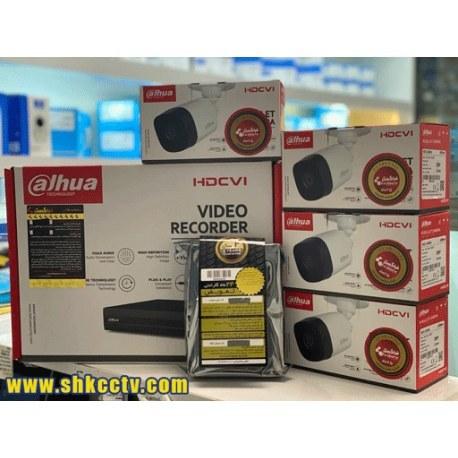 تصویر پکیچ ویژه دستگاه, دوربین و هارد B1A21P + XVR1A04 داهوا + هارد وسترن 1T بنفش