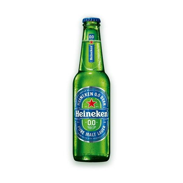 تصویر آبجو بدون الکل هاینیکن شیشه ای ۴۷۰ میلی لیتر  Heineken