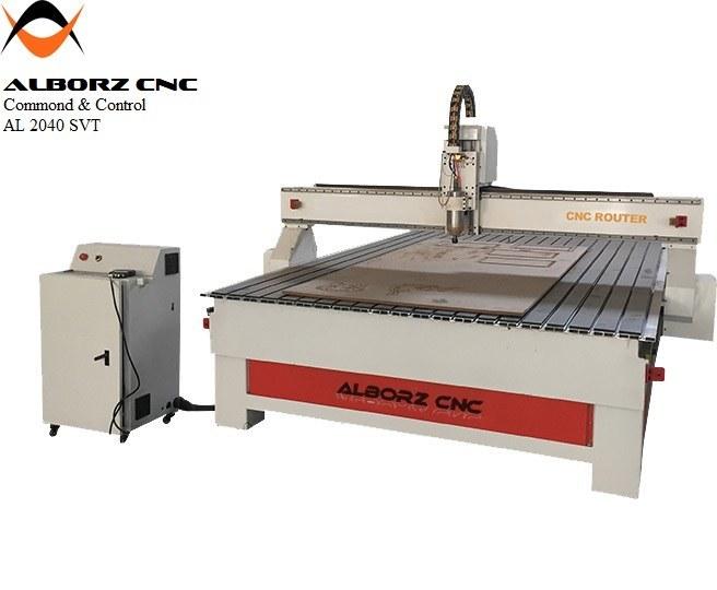 تصویر دستگاه سی ان سی البرز cnc مدل AL 2040 S