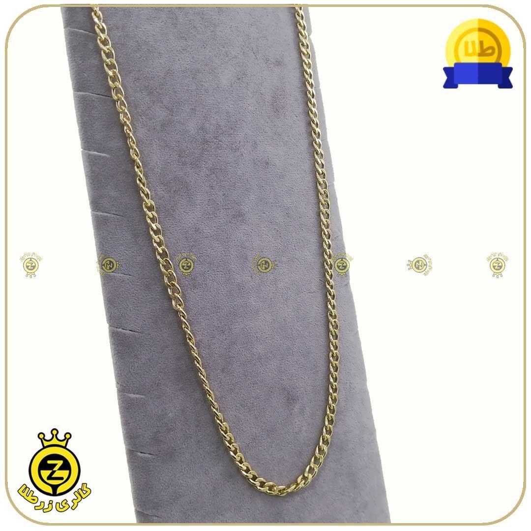 تصویر گردنبند طلا کارتیه