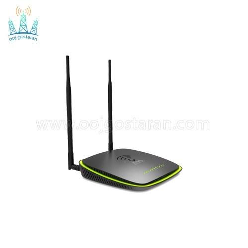 تصویر مودم روتر بیسیم تندا +ADSL2 مدل Tenda D1201
