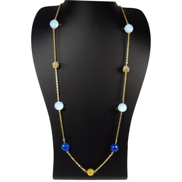 گردنبند طلا 18 عیار مانچو مدل SFG604 | Mancho SFG604 Gold Necklace