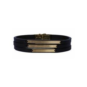 تصویر دستبند طلا مردانه مدل MG19
