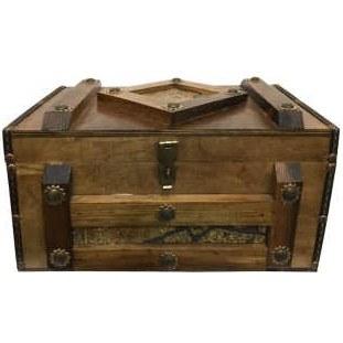 تصویر جعبه هدیه طرح صندوقچه مدل ADELKA