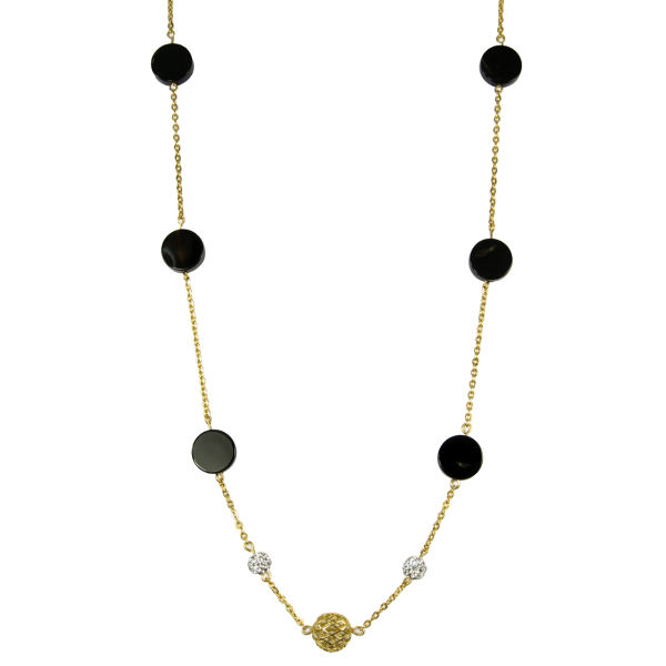 گردنبند طلا 18 عیار مانچو مدل SFG605   Mancho SFG605 Gold Necklace