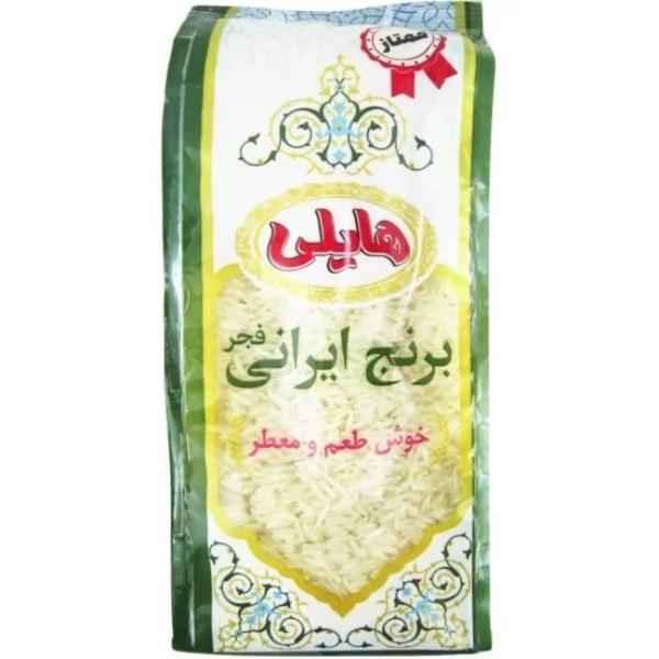 تصویر برنج ایرانی فجر معطر هایلی 900 گرمی طبیعت