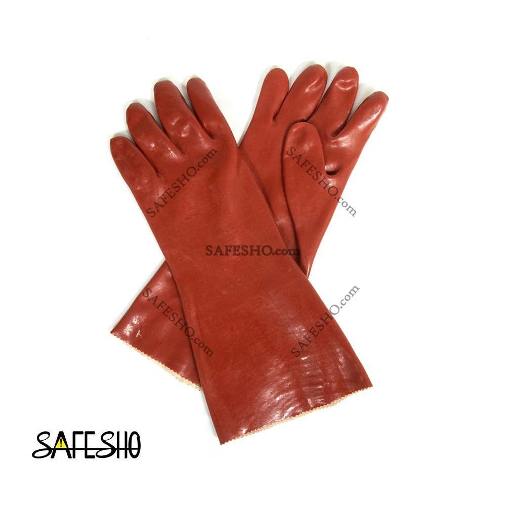 تصویر دستکش ضد اسید ماهان