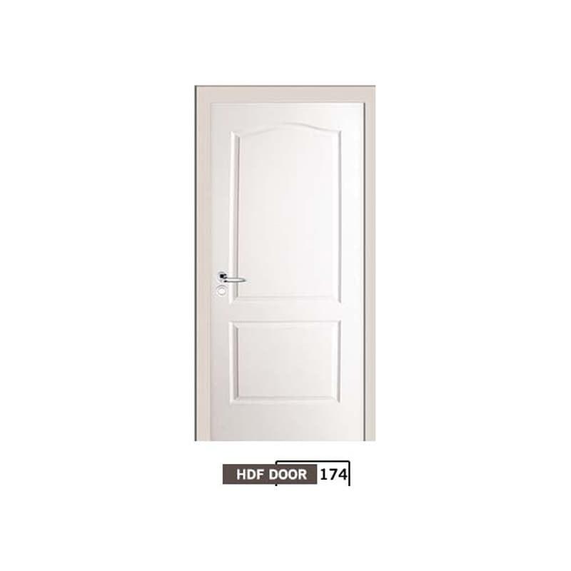 تصویر درب اتاقی hdf ورق pvc کد 174