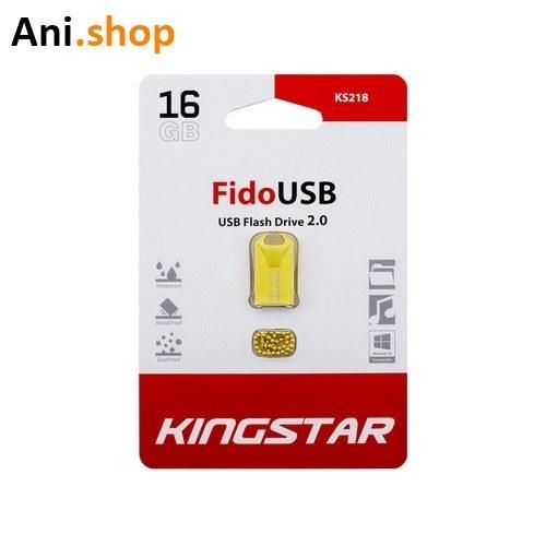 تصویر فلش مموری کینگ استار مدل KS218 با ظرفیت 16 گیگابایت Kingstar KS218 16GB USB 2.0 Flash Memory