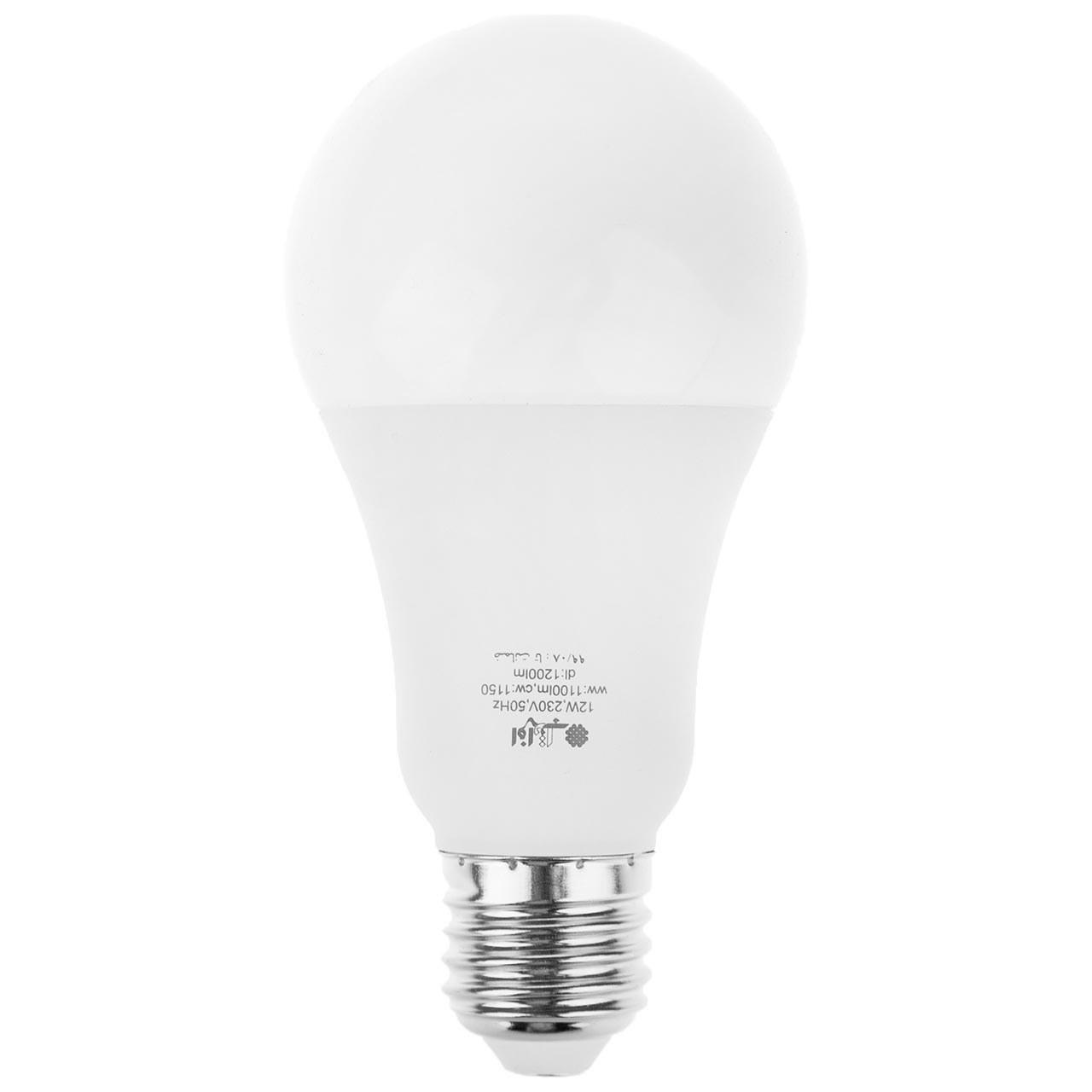 لامپ ال ای دی ۱۲ وات افراتاب مدل AF-G65-12W پایه E27