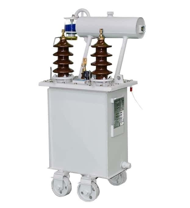 تصویر ترانسفورماتور توزیع روغنی تکفاز ۱۵kVA ردیف ولتاژ ۲۰kV Single Phase Oil Type Distribution Transformer 15kva