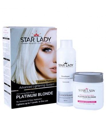 تصویر پلاتينيوم بلوندر استار لیدی حجم 270 میل Star Lady Platinum Blondo 270ml